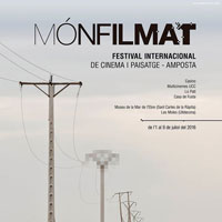 Mónfilmat. Festival internacional de cinema i paisatge - 2016