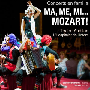 Espectacle 'Ma, Me, Mi... Mozart'