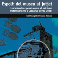 presentació, llibre, lectura, Espoli: del museu al jutjat, Lleida, Museu de Lleida, Segrià, febrer, 2017, Surtdecasa Ponent