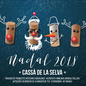 Nadal a Cassà de la Selva, 2018