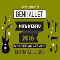 Nits d'estiu a l'Estació de Benifallet 2016