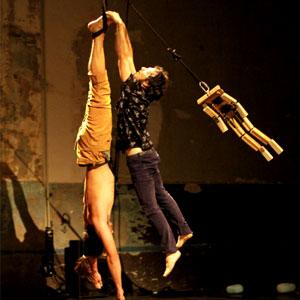 Espectacle de circ 'El meu nom és Hor' a càrrec de la Companyia Psirc,