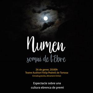 Espectacle 'Numen, somni de l'Ebre'