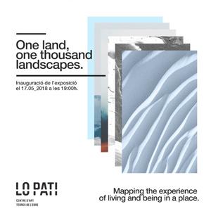 Exposició 'One land, one thousand landscapes 1L1000L' - Lo Pati 2018