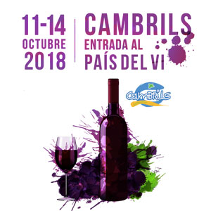 Cambrils, Entrada al país del vi, Fira Gastronomica, Vi, 2018