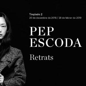 Exposició 'Pep Escoda. Retrats' - Tarragona 2018-2019