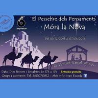 6a Exposició del Pessebre dels Pensaments - Móra la Nova 2015