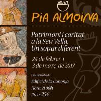 Seu Vella, Pia Almoïna, patrimoni, gastronomia, sopar, recreació, història, Segrià, febrer, març, 2017, Surtdecasa Ponent