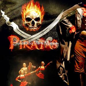 Espectacle 'Piratas Surcando los 4 Mares' de la companyia La fábrica de ilusiones