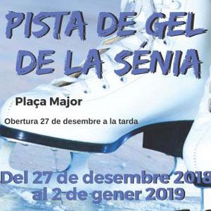 Pista de gel de La Sénia - 2018