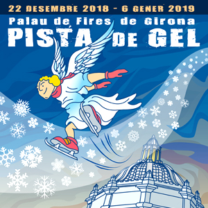 Pista i Tobogan de gel de Girona, 2018