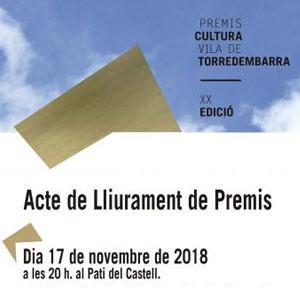 XX Premis Cultura Vila de Torredembarra