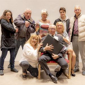 Teatre 'Diner negre' a càrrec del grup de teatre Quo Vadis