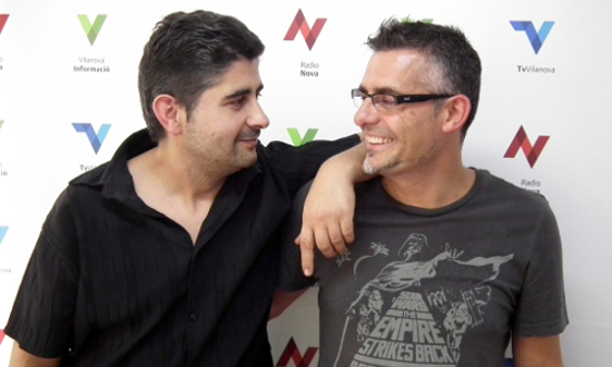 Raül Bocache i Javier Pérez-Vico