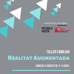 Taller familiar 'Realitat augmentada' - Móra d'Ebre 2019