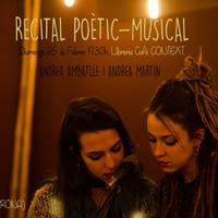 Recital poètic-musical - Andrea Ambatlle i Andrea Martín