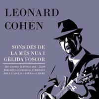 Concert-recital d'homenatge a Leonard Cohen