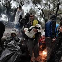 L'errance des réfugiés à travers l'Europe