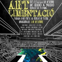Mercat d'art, Mercat Ronda Fleming, Lleida, Remolins a peu de carrer, desembre, Surtdecasa Ponent