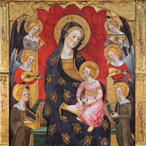Retaule de la Mare de Déu dels Àngels - Convent de les Clarisses de Tortosa