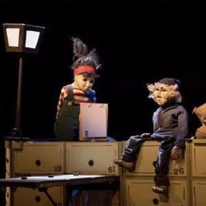 Espectacle, Titelles, Teatre Mimaia, Roig Pèl-Boig, Festival Guant, 2918