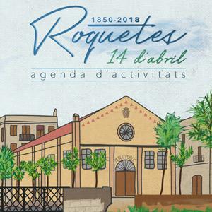 Agenda Roquetes 14 d'abril - 2018