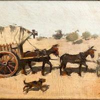 Exposició 'Rusiñol i Casas, per Catalunya en carro (1889-1892)'