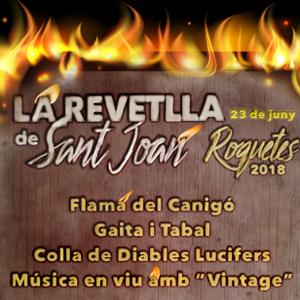 Revetlla de Sant Joan - Roquetes 2018