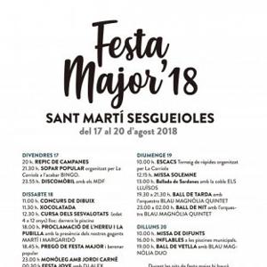 Festa Major Sant Martí Sesgueioles
