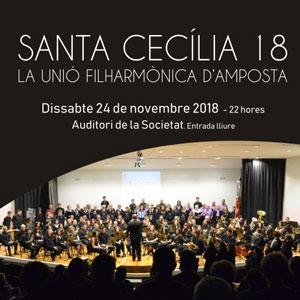 Concert de Santa Cecília - La Unió Filharmònica d'Amposta 2018