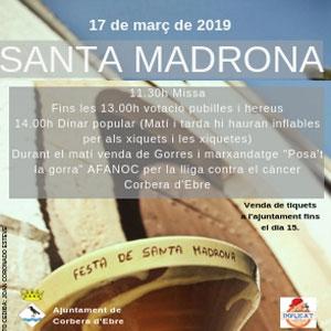 Santa Madrona - Corbera d'Ebre 2019