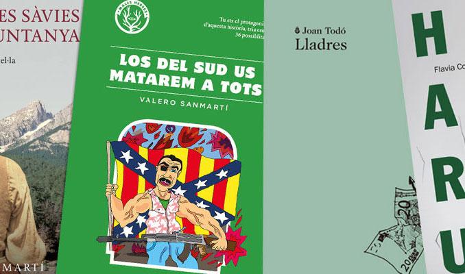 Recomanacions literàries Sant Jordi Terres de l'Ebre 2016