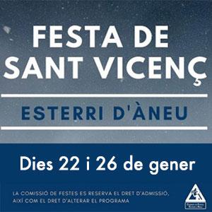 Festa de Sant Vicenç a Esterri d'Àneu, 2019