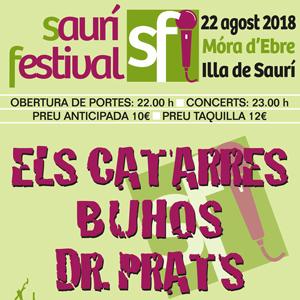 Saurí Festival - Móra d'Ebre 2018