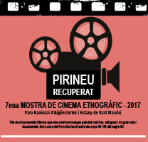 Fragment del cartell de la Mostra de Cinema etnogràfic del Parc Nacional