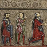 Una de les imatges que es pot veure a l'exposició d'art sacre de l'Aran