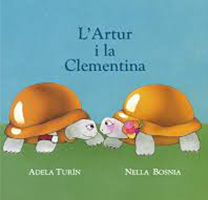 Portada del llibre infantil 'L'Artur i la Clementina'