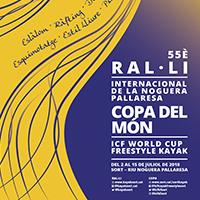 Fragment del cartell del 55è Ral·li Internacional de la Noguera Pallaresa