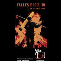 Fragment del cartell de les Falles d'Isil