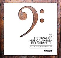 Cartell del Festival de Música Antiga dels Pirineus