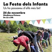 Fragment del cartell de la Festa dels infants