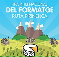 Fragment del cartell de la Fira Internacional del Formatge