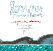Fragment del cartell de l'exposició Flocs de mar