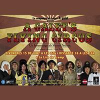 Imatge del cartell de l'obra 'Flying circus' de la Cia. A galet