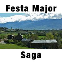 Saga és un nucli que pertany al municipi de Ger, a la Cerdanya