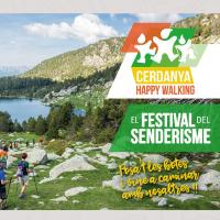 Fragment del cartell del Festival de Senderisme de la Cerdanya