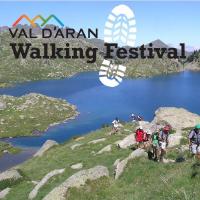 Fragment del cartelll festival Val d'Aran Walking Festival