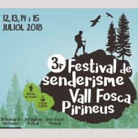 Imatge del cartell del 3r Festival de Senderisme de la Vall Fosca
