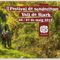 Fragment del cartell del Festival de Senderisme de la Vall de Siarb