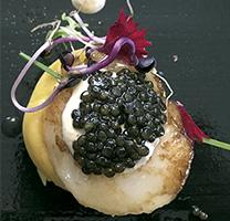 Caviar produit a la Val d'Aran, sota la marca Nacarii